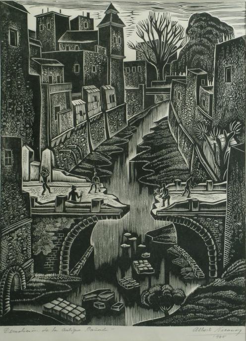 Alberto Nicasio - Demolicion de la antigua Canada - Coleccion MGP